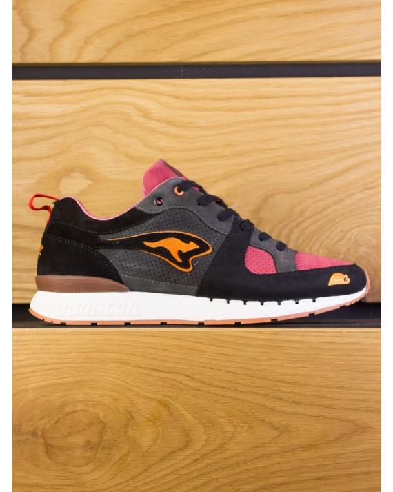 """KangaRoos Coil-R1 x SneakerBAAS """"Windmill Pack"""" Dead Bird - Deadly Black Bloody Pink"""