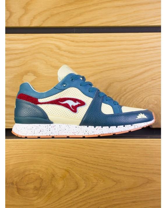 "KangaRoos Coil-R1 x SneakerBAAS ""Windmill Pack"" The Turtle - Pine Green Cream Yellow"