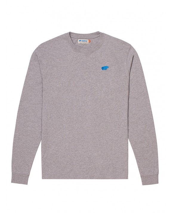 Karhu Air Cushion L/S T-Shirt - Heather Grey