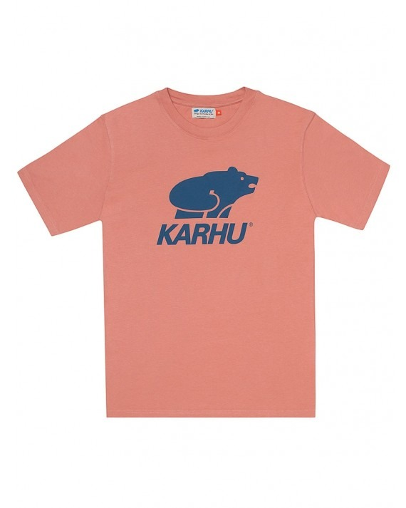 Karhu Basic Logo T-Shirt - Muted Clay Navy