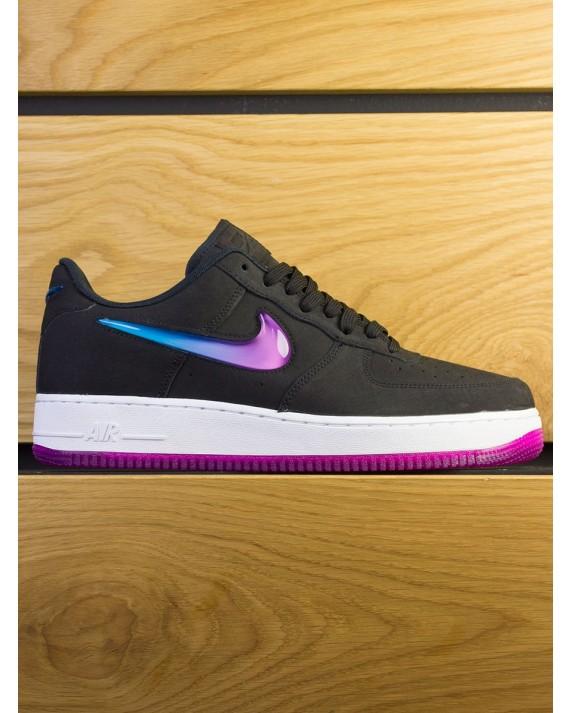 Nike Air Force 1 '07 Premium - Black Active Fuschia