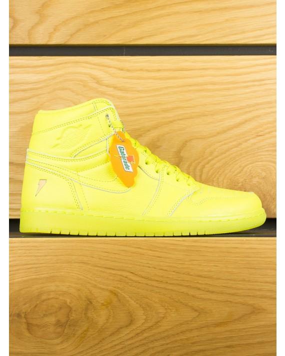 "Nike Air Jordan 1 Retro High OG x Gatorade ""Lemon & Lime"" - Cyber"