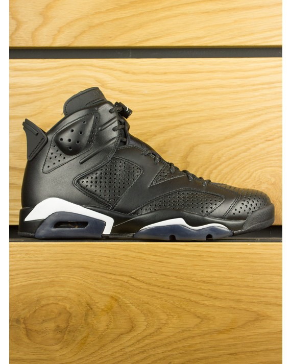 Nike Air Jordan 6 Retro 'Black Cat' - Black White