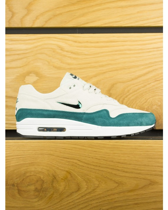 Nike Air Max 1 Premium SC 'Jewel' - Light Bone Atomic Teal