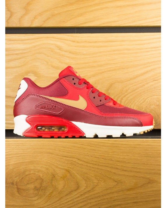Nike Air Max 90 Essential - Game Red Elemental Gold