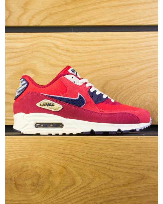 Nike Air Max 90 Premium SE - University Red Provence Purple