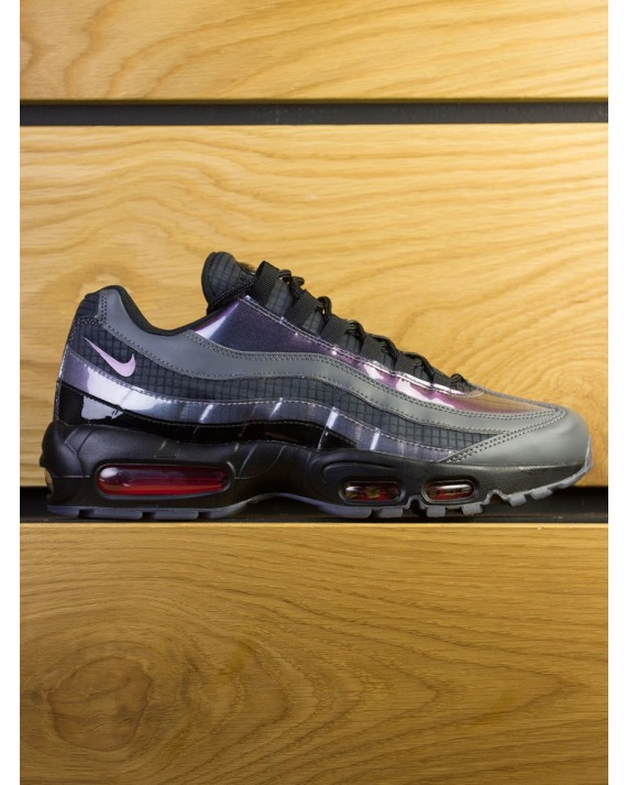 Nike Air Max 95 LV8 - Black Ember Glow Dark Grey