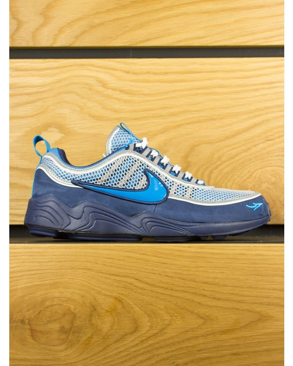 NikeLab Air Zoom Spiridon '16 x STASH - Harbour Blue Heritage Cyan
