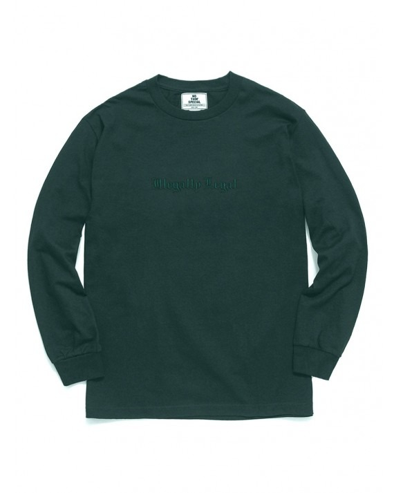 Nothin' Special Illegally Legal L/S T-Shirt - Forest Green