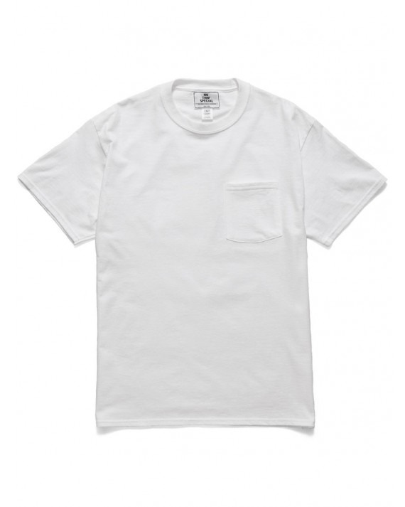 Nothin' Special World Famous Pocket T-Shirt - White