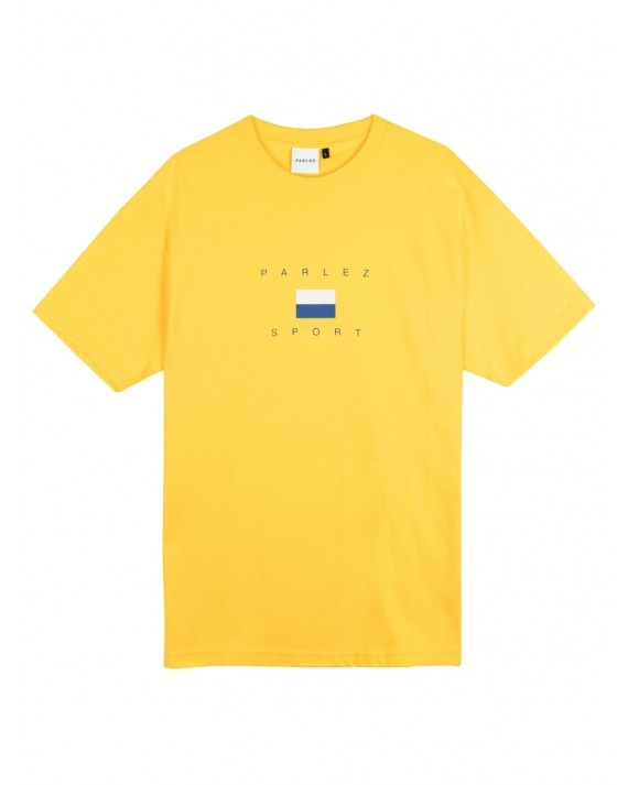 Parlez H Block T-Shirt - Yellow