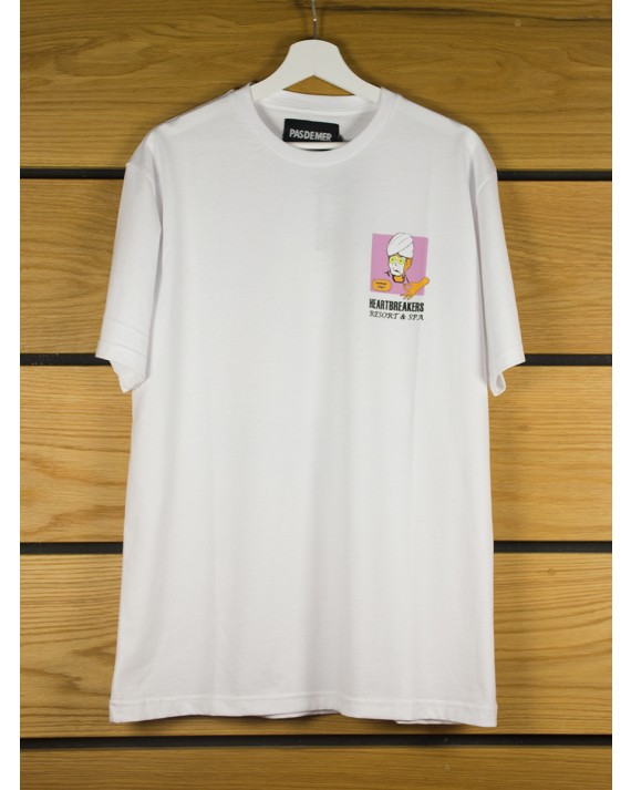 Pas De Mer Heartbreakers T-Shirt - White