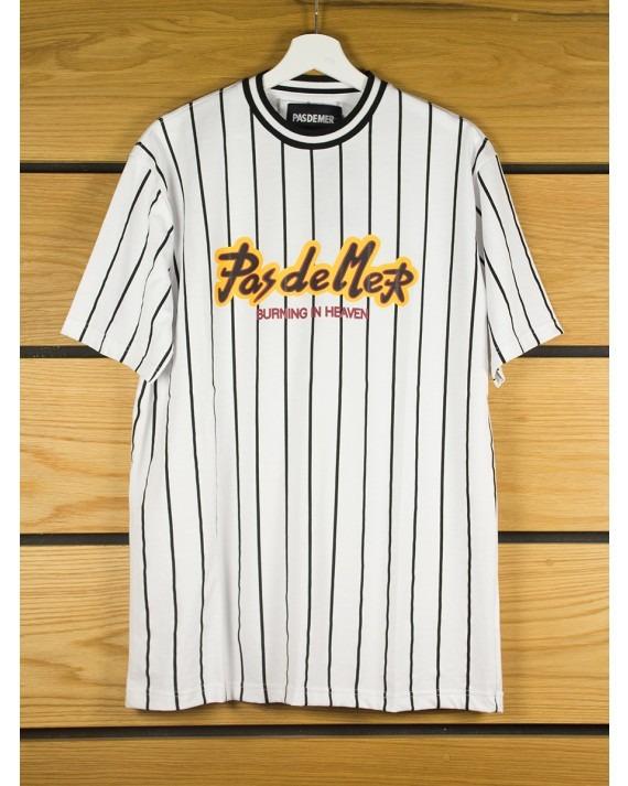 Pas De Mer PDM T-Shirt - White Black