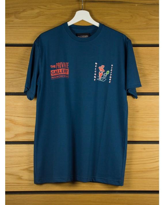 Pas De Mer Private Gallery T-Shirt - Blue