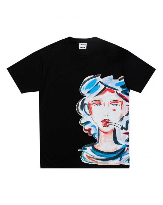 Paterson Fumeé T-Shirt - Black