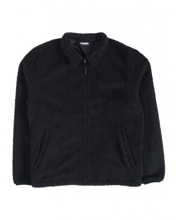 Pleasures Deep Pile Coach Jacket - Black