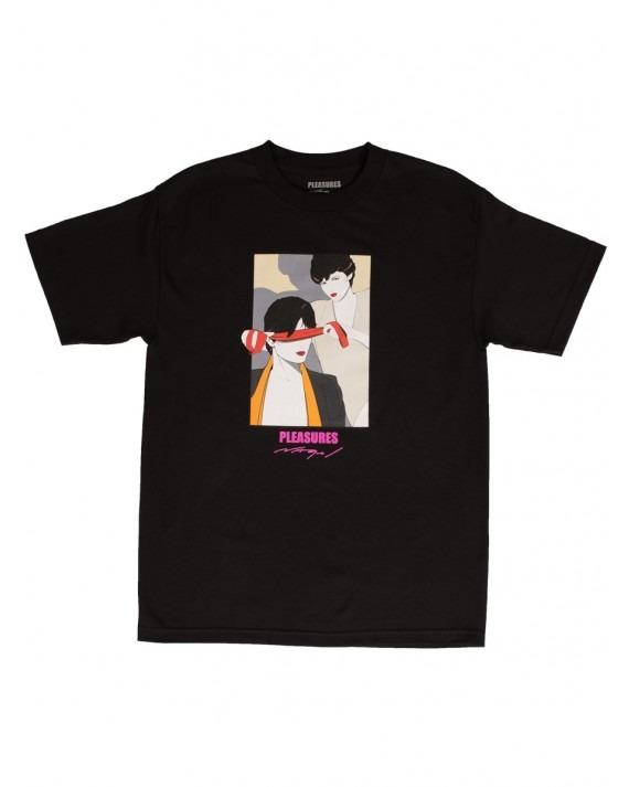 Pleasures x Patrick Nagel Blindfold T-Shirt - Black