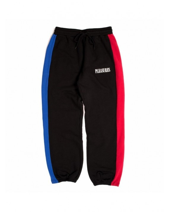 Pleasures Split Colour Sweatpants - Black