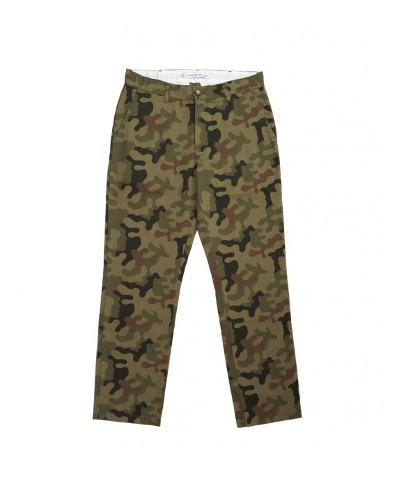 Post Details Labour Pant - Camouflage