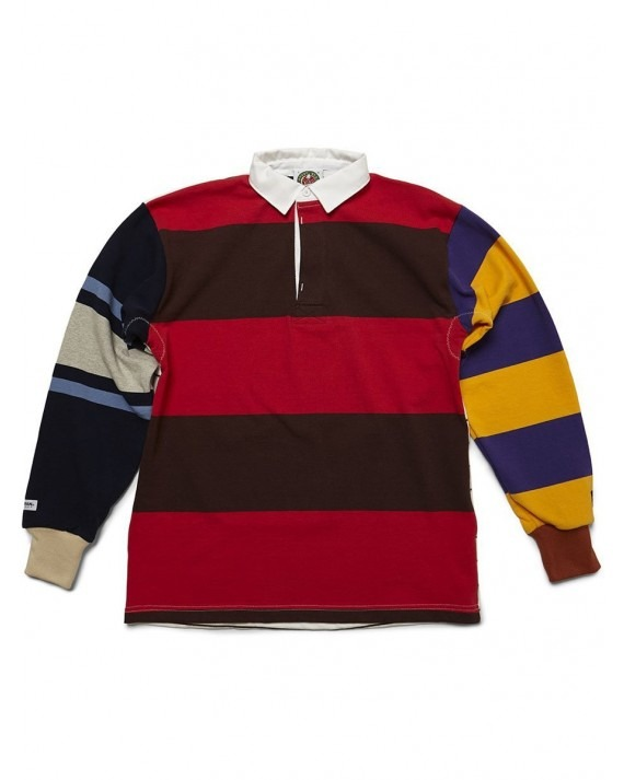 Raised by Wolves Barbarian Wild Ones Rugby Jersey - Multi