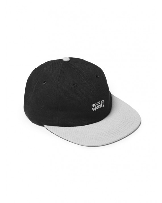 Raised by Wolves Tag Logo 6 Panel - Grey Black