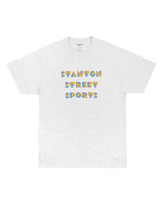 Stanton Street Sports Bauhaus T-Shirt - Ash Grey