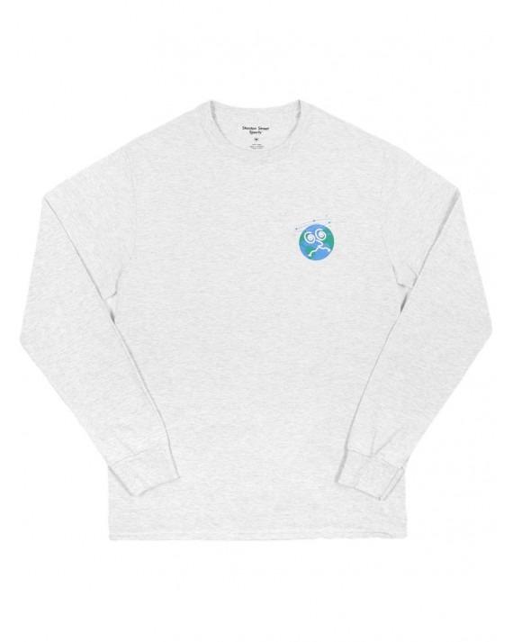 Stanton Street Sports Dizzy Planet L/S T-Shirt - Ash Grey