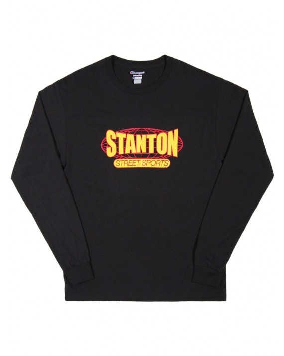 Stanton Street Sports International Champion L/S T-Shirt - Black