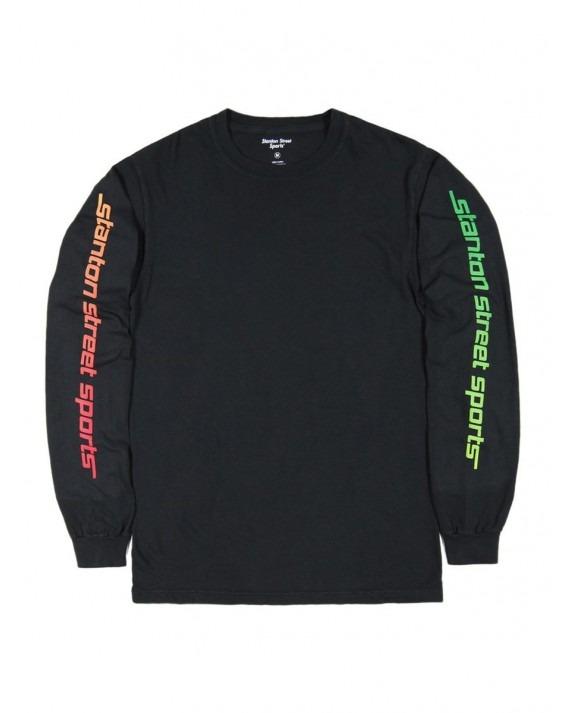 Stanton Street Sports Zone L/S T-Shirt - Vintage Black