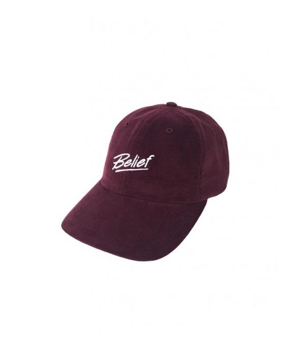 Belief Team Cap - Oxblood