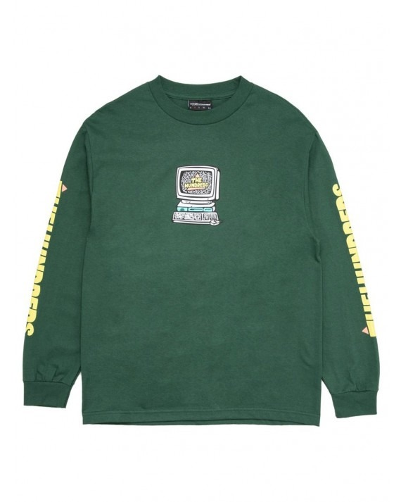 The Hundreds Wifi L/S T-Shirt - Forest Green