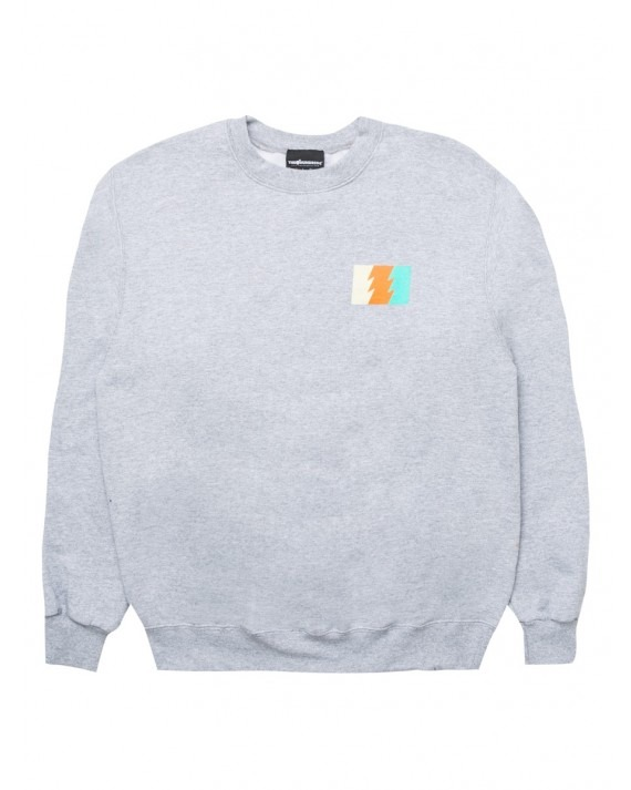 The Hundreds Wildfire 6 Champion Crewneck - Athletic Heather