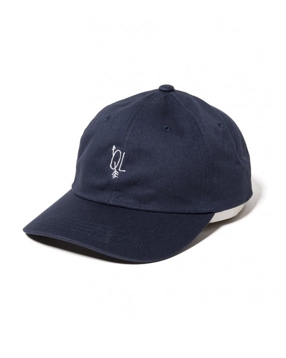 The Quiet Life Arrow Dad Hat - Navy