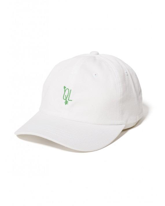The Quiet Life Arrow Dad Hat - White