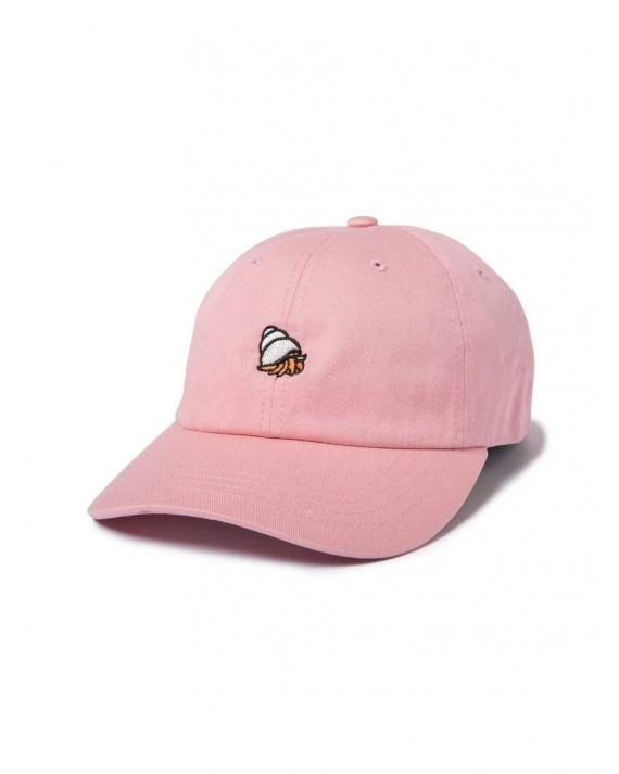 The Quiet Life Crab Dad Hat - Pink