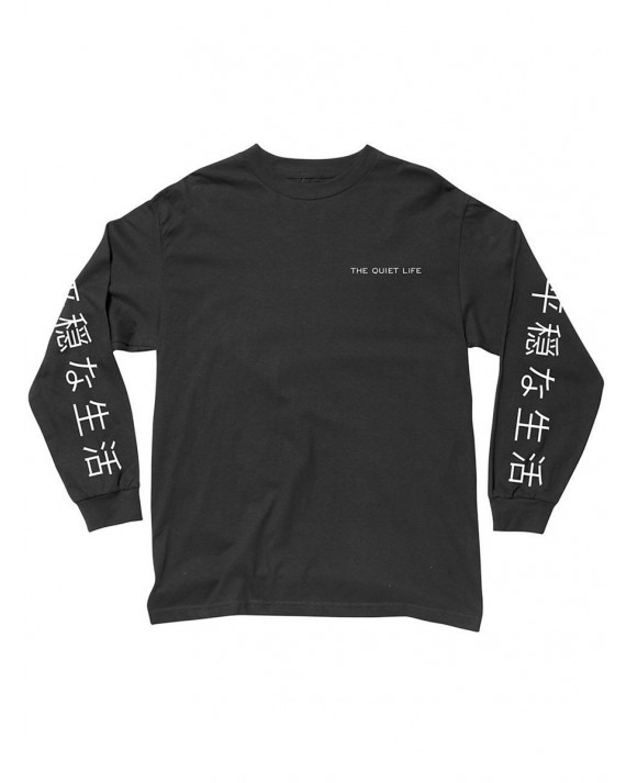 The Quiet Life Japan L/S T-Shirt - Black