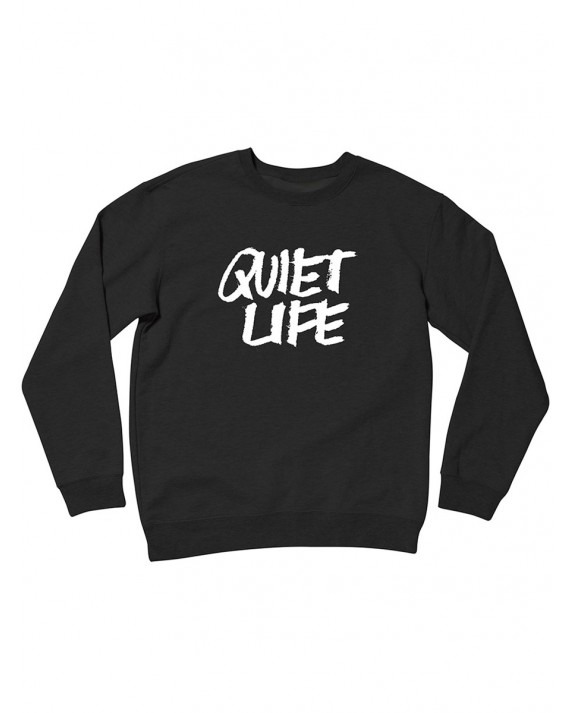 The Quiet Life x James Jarvis Crewneck - Black