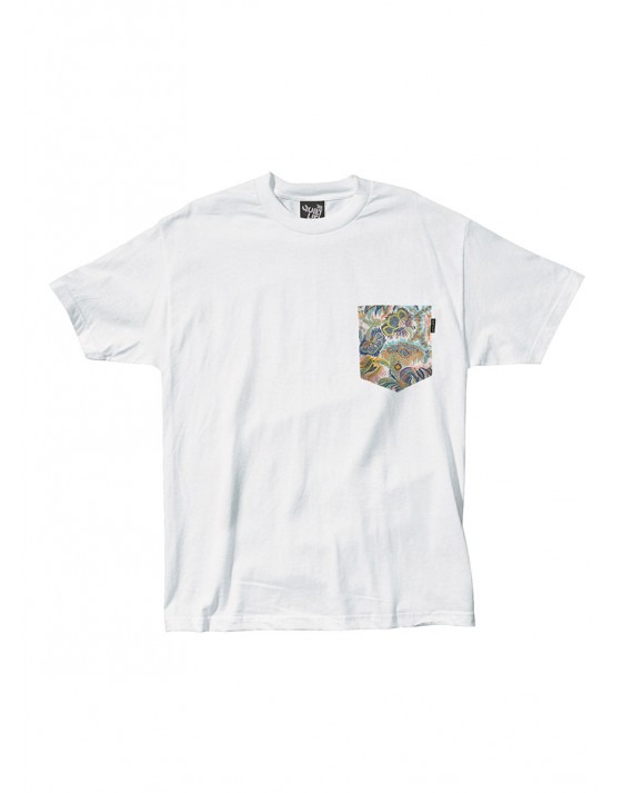 The Quiet Life Paisley Pocket T-Shirt - White