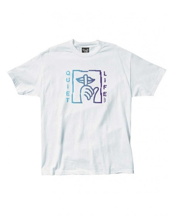 The Quiet Life Shatter T-Shirt - White