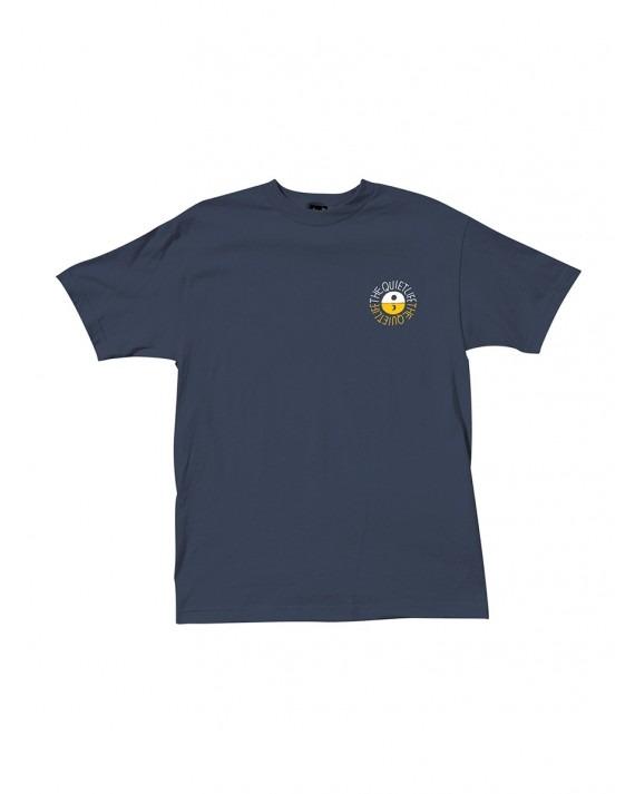 The Quiet Life Solar T-Shirt - Navy
