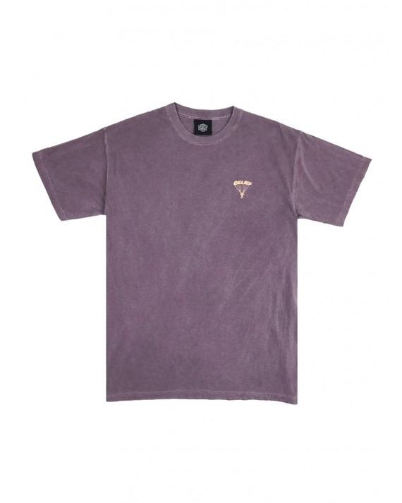 Belief Parachute T-Shirt - Wine