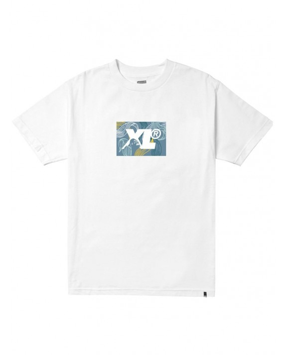 X-Large Leaf T-Shirt - White