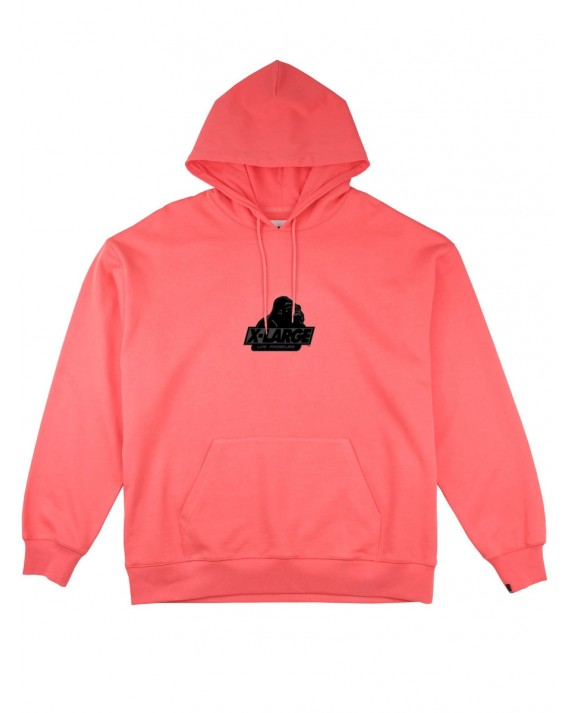 X-Large Old OG Pullover Hoody - Coral