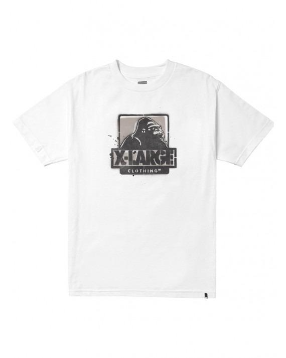 X-Large Stencil T-Shirt - White