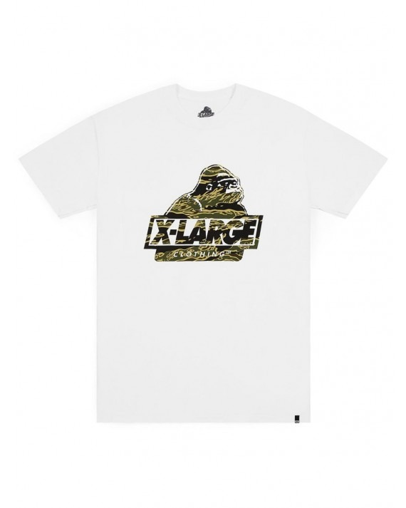 X-Large Tiger Camo OG T-Shirt - White