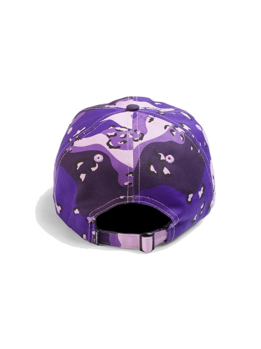 10 Deep Sound Amp Fury Camo Dad Hat Purple Chips