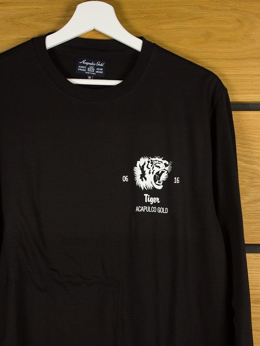 Acapulco Gold Flying Tiger L S T Shirt Black