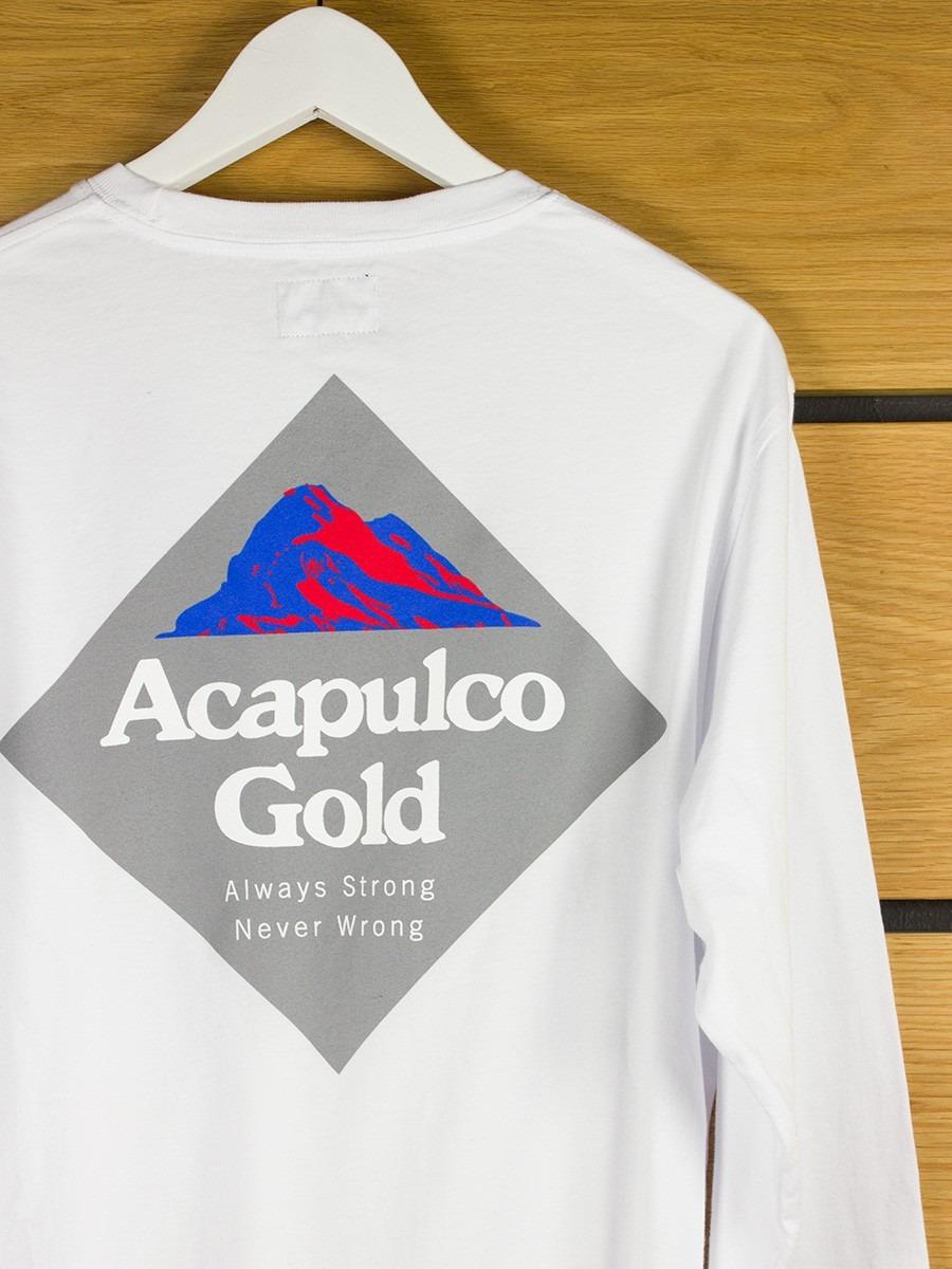 Acapulco Gold Summit 2 0 L S T Shirt White