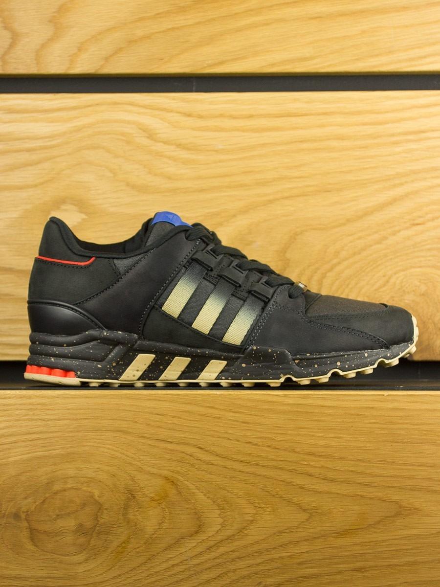 b3615061244c Adidas Consortium x Highs   Lows EQT 93 Running Support - Black Gold