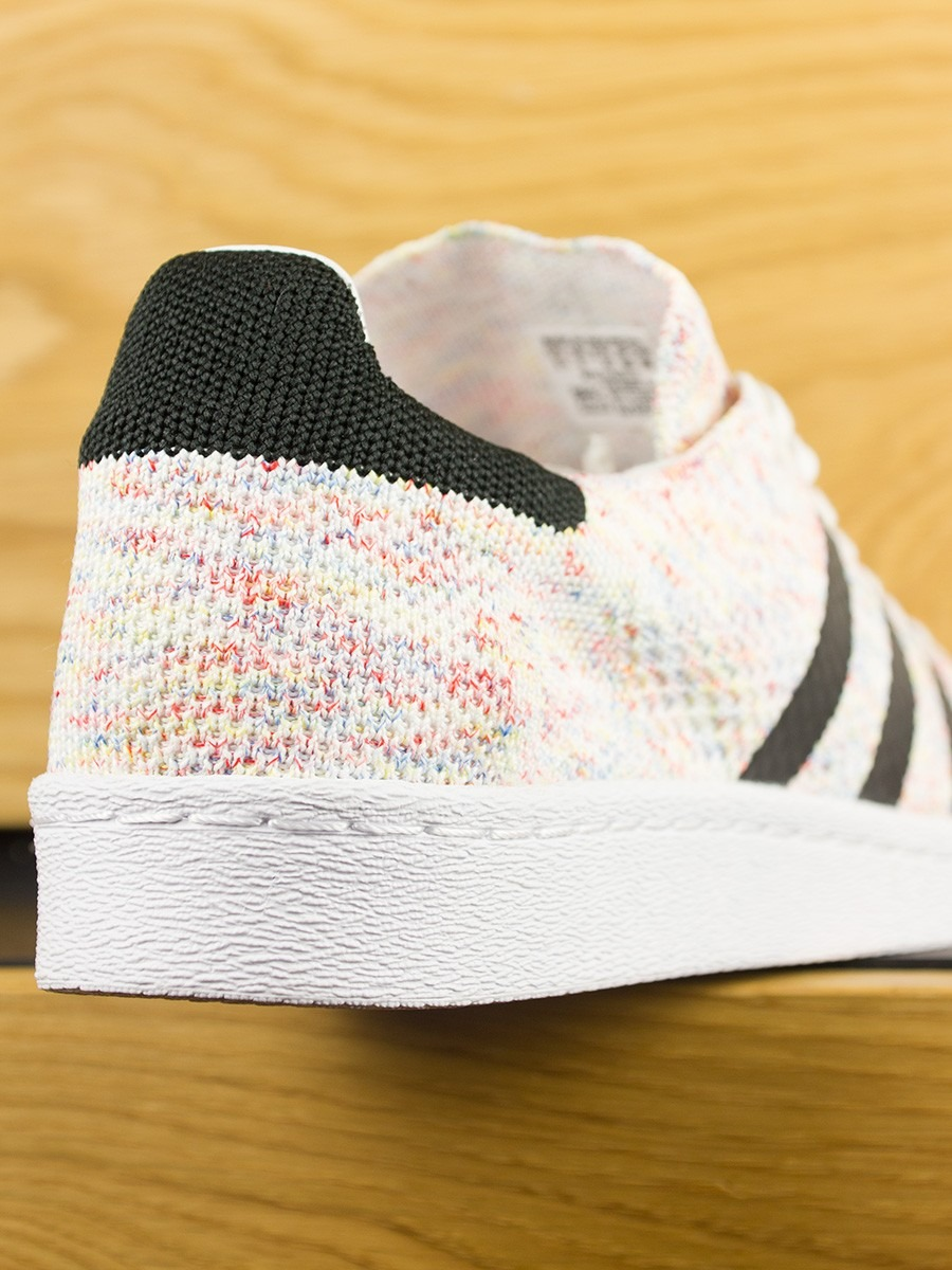 Home; Adidas Superstar 80s Prime Knit - White Core Black. -60%Sale